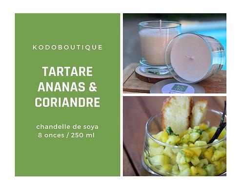 Tartare Ananas & Coriandre