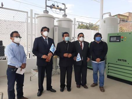 Autorización para fabricar Planta de oxigeno- Proceso PSA