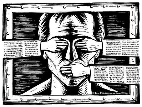 La censura de la disensión
