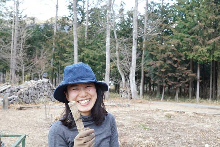 left staff Eriko Kuribayashi