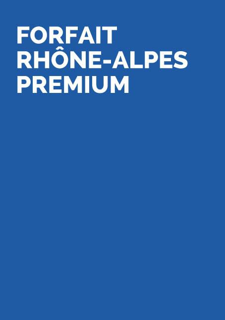 FORFAIT RHONE-ALPES PREMIUM
