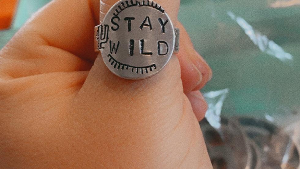 Stay Wild Ring