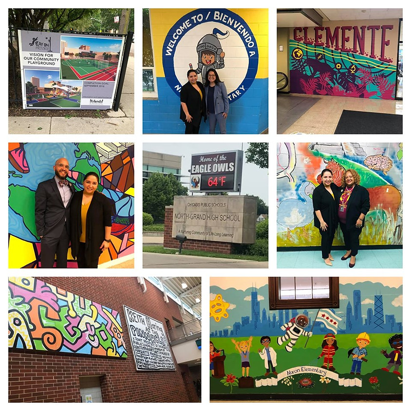 Visit to Clemente HS