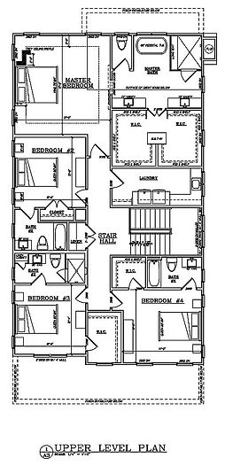 2193 Virginia Pl - Upper Level Floor Plan