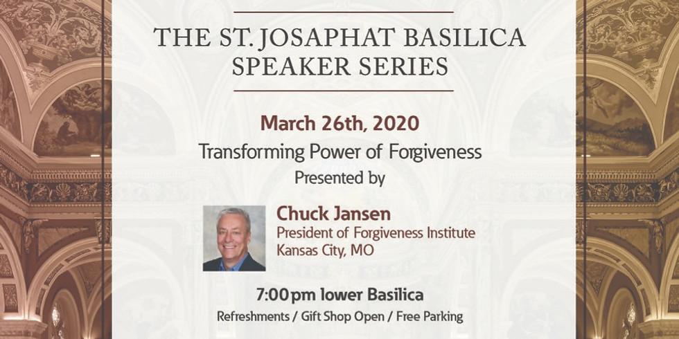 St. Josaphat Basilica Speaker Series