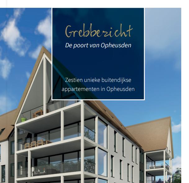 Brochure 'Grebbezicht'