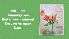Maak kans op het magazine Buitenleven!