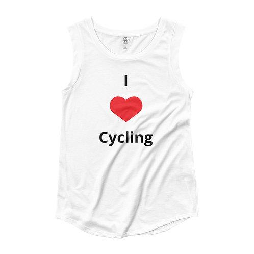 Cycling Ladies' Cap Sleeve T-Shirt