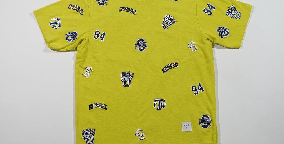 Supreme Tee Bright Yellow University S/S