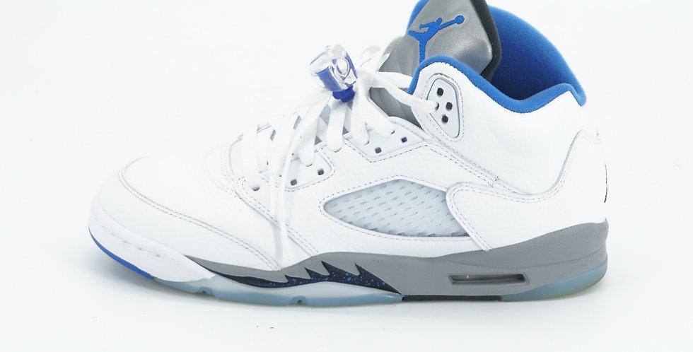 Jordan 5 Retro White Stealth