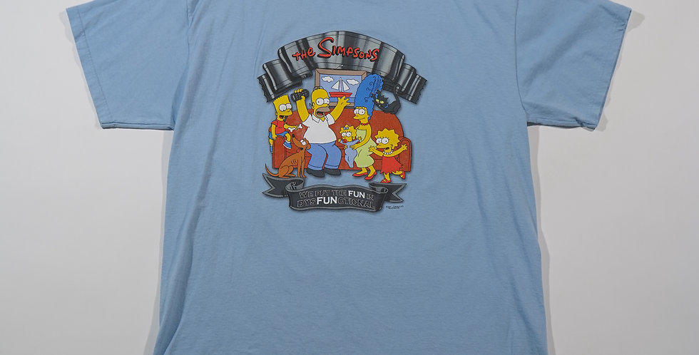 2003 Blue Simpsons Tee