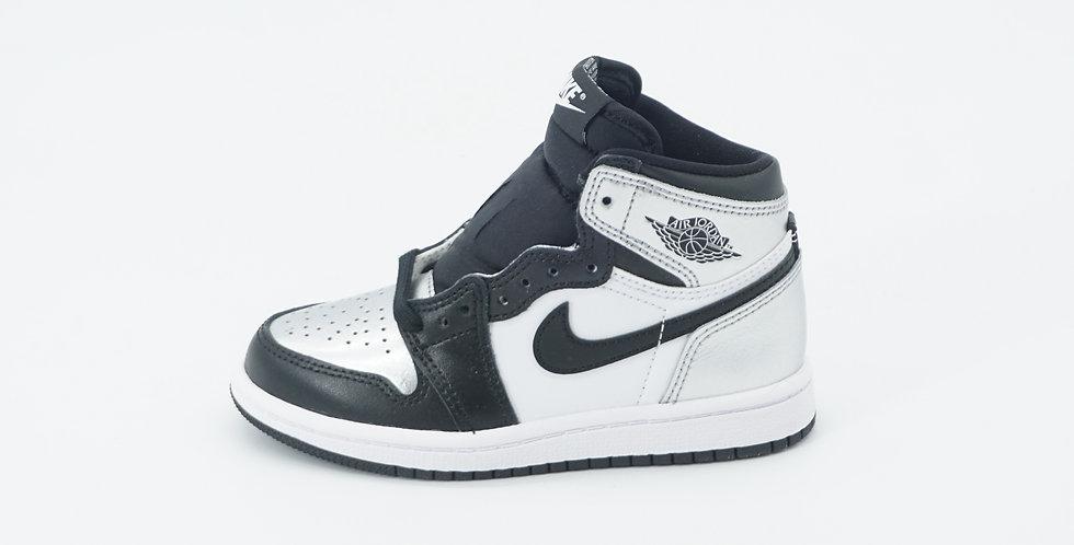 Jordan 1 Retro Silver Toe