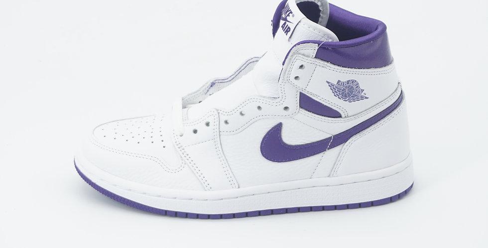 Jordan 1 Retro Court Purple W