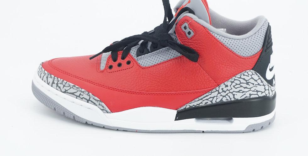 Jordan 3 Retro Fire Red