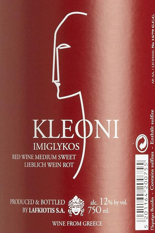 KLEONI RED - Medium Sweet Red Wine