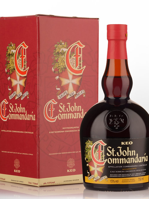 St John Commandaria KEO 750ml