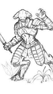 Portal Books Character Concept Art
