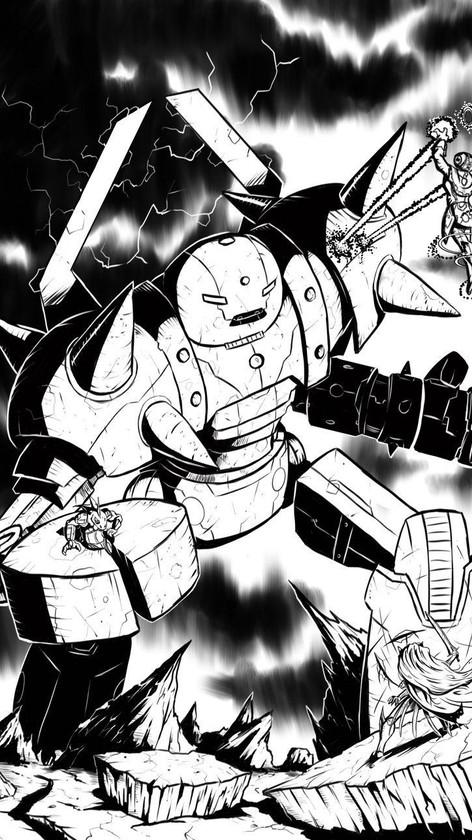 Warriors of Eternity Chapter Illustration