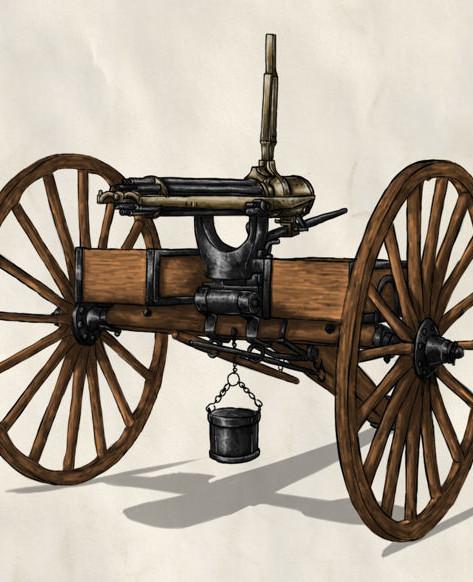 Heroes of History TCG Gatling Gun