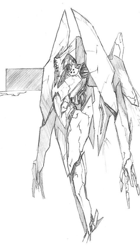 Mech Concept Art