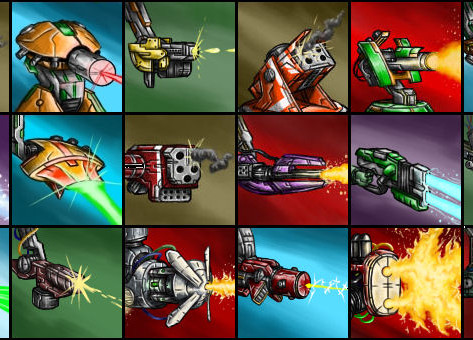 Mecha Galaxy Weapon Icons