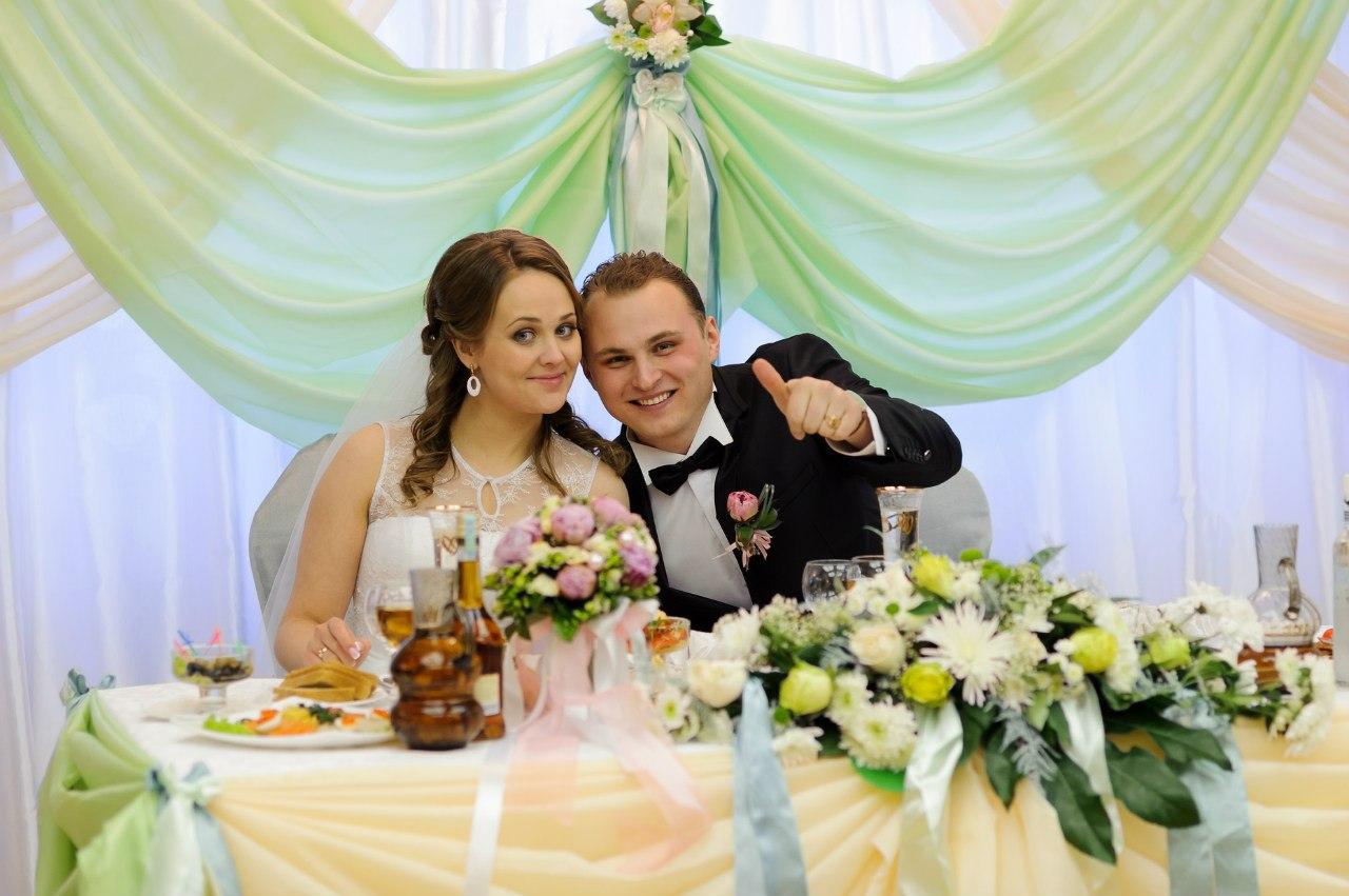 регистрация и свадебный банкет