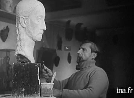 Un documentaire unique : « La sculpture et les sculpteurs »