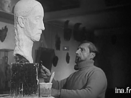 Un documentaire unique : « La sculpture et les sculpteurs »