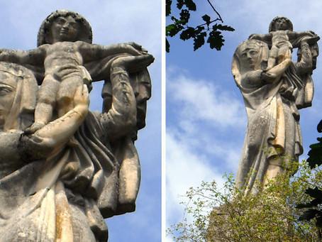 La Vierge d'Alsace : un ex-voto* géant signé Bourdelle