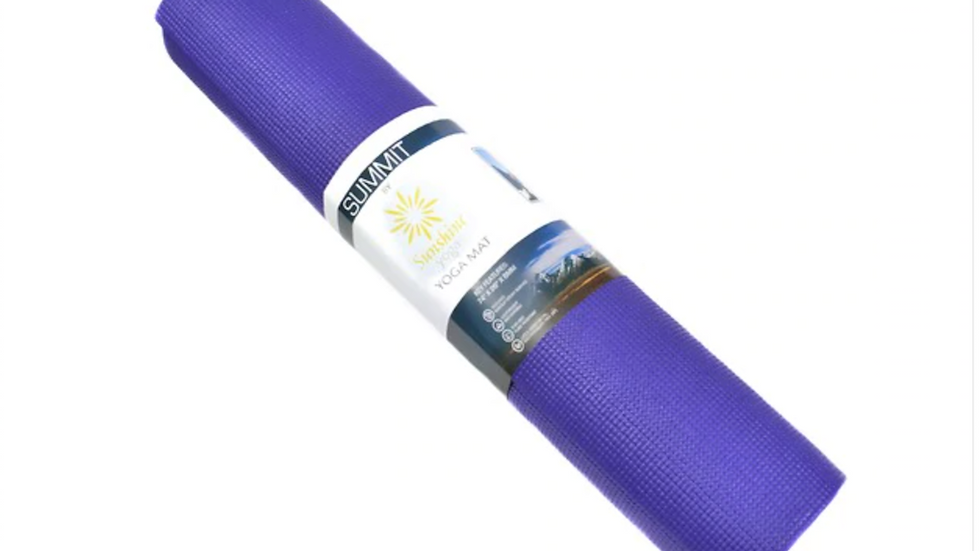 Purple Summit Yoga Mat Extra Wide and Long