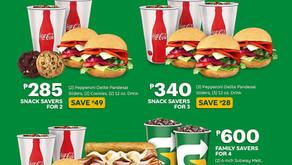 Enjoy Savings With the Subway Savers!