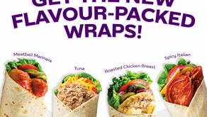 New On The Menu: Flavour-Packed Tortilla Wraps!