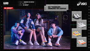 ASICS SPORTSTYLE FEATURES KPOP IDOL GROUP KARD IN LATEST GEL-MIQRUM LAUNCH