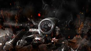 Garmin® new smartwatches boast a 500 percent higher solar conversion rate