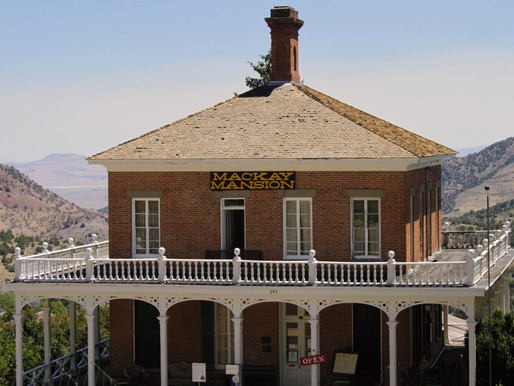 Mackay Mansion, Ghosts of the Comstock