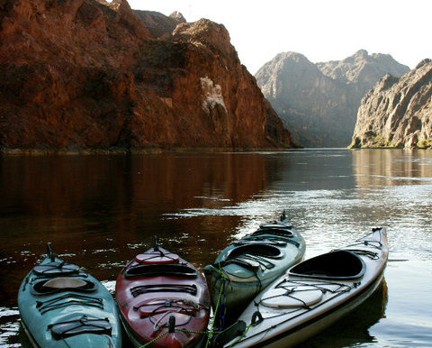 Exploring A Desert Oasis: Kayaking, Black Canyon
