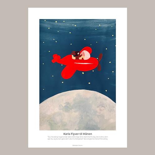 Karla Flyver til Månen