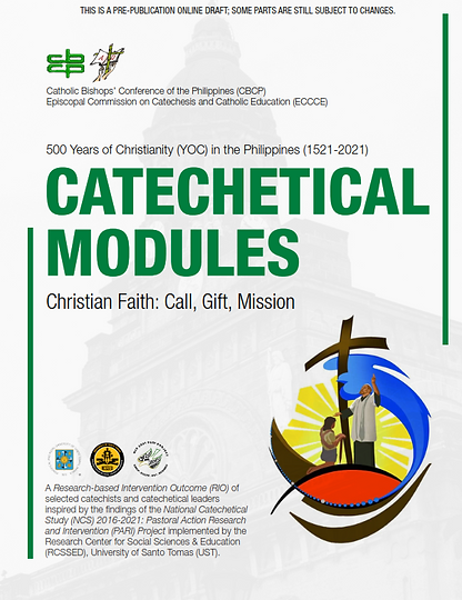 CATECHETICAL MODULES COVER