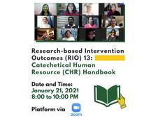Catechetical Human Resource (CHR) Handbook