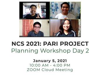 Planning Workshop Day 2