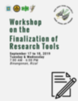 091319-WORKSHOP-ON-RESEARCH-TOOL-FINALIZ