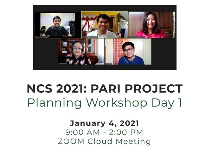 Planning Workshop Day 1