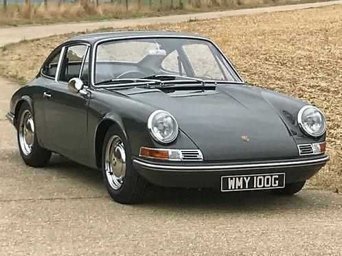 SOLD -- Porsche 911 T 2.0 Sportomatic 1969 RHD Coupe Fully Restored