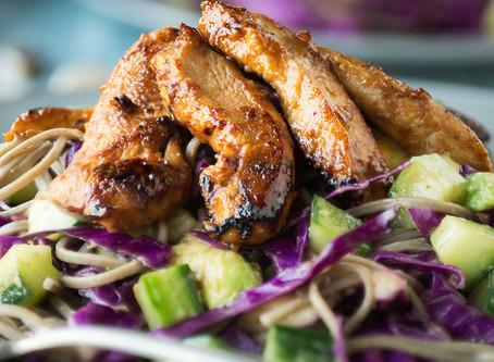 Gezond en fit met koolhydraatarme maaltijden