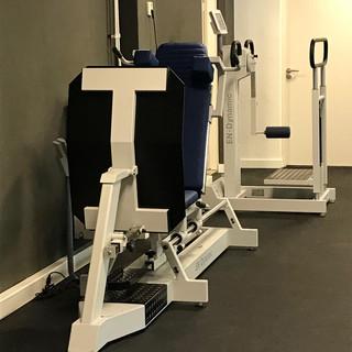 Oefenzaal fysiofitness genderdal