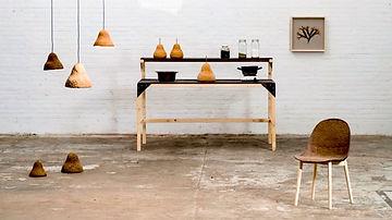 Мебель из водорослей и бумаги