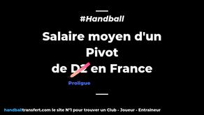 Salaire moyen d'un Pivot en Proligue handball ?