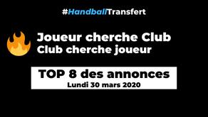 Joueurs qui cherchent un club de handball...