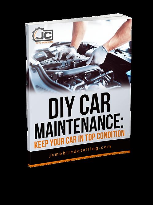 JC Auto Detailing DIY Car Care Maintenance