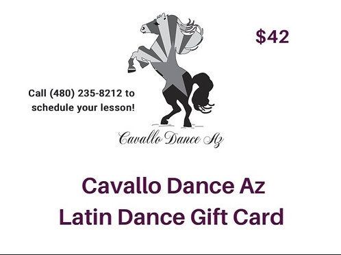 Intro Lesson Gift Card